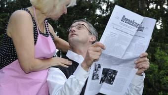 Szenische Aufführung «Die wilden Fünfziger Jahre» rund ums Parktheater