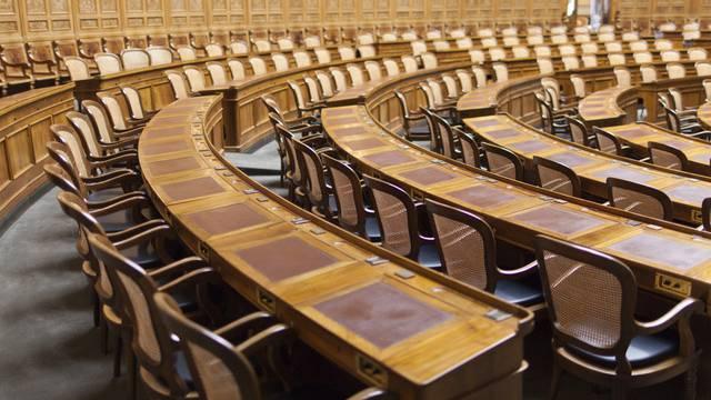 Blick in den Nationalratssaal im Bundeshaus in Bern (Archiv)