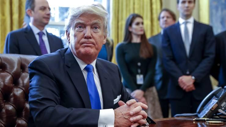 Nun wenden sich auch grosse US-Konzerne öffentlich gegen Donald Trump.