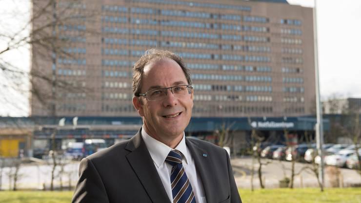 Adrian Schmitter, CEO KSB: «Ich wüsste nicht, warum der Kanton Spitäler besitzen muss.»