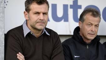 Bald wieder zusammen auf der Trainerbank? Sven Christ (l.) und Thomas Binggeli (r.)