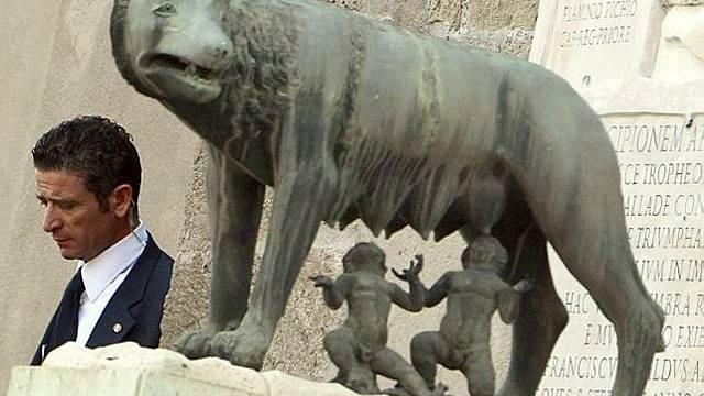 Durstige Zeiten für Romulus und Remus
