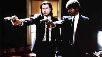 John Travolta und Samuel L. Jackson mimen zwei Auftragskiller im Film «Pulp Fiction» von Quentin Tarantino.