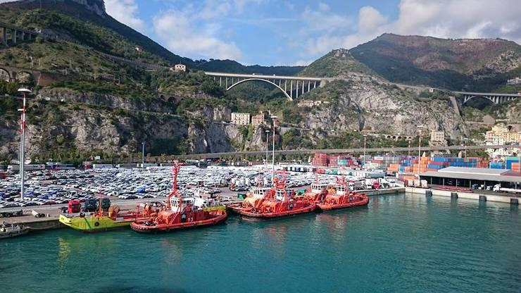 Und die schönen Hafen-Orte.