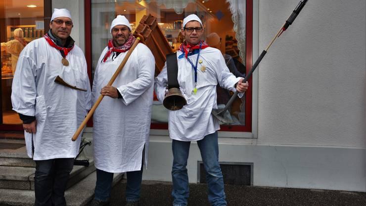Links: Urs Nussbaumer Mitte: Hausi Rothenbühler Rechts: Remo Meer