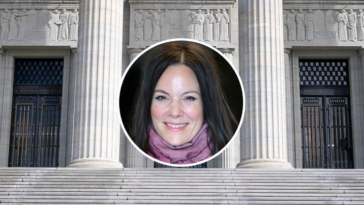 Julia Hänni (CVP) übernimmt am Bundesgericht die Stelle von SVP-Richter Peter Karlen. Thomas Müller, der sich für die SVP als Kandidat für die Nachfolge von Karlen hat aufstellen lassen, zog sich kurzfristig zurück. (Archivbild)