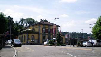 Auf dem Bahnhofplatz von Rheinfelden sollen gute Empfangs- und Umsteigebedingungen geschaffen werden. zvg