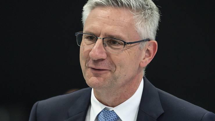 Der Aargauer Nationalrat Andreas Glarner, ebenfalls Präsident der SVP Kanton Aargau, ist positiv auf das Coronavirus getestet worden. Er befindet sich nun in Isolation. (Archivbild)