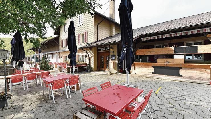 Der Berggasthof Roggen soll ab Februar 2021 ein gutes Jahr lang saniert werden.