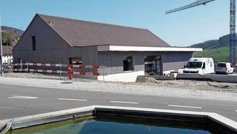 In diesen Tagen wird der neue Volg-Laden eingerichtet, nächsten Donnerstag findet die Eröffnung statt.