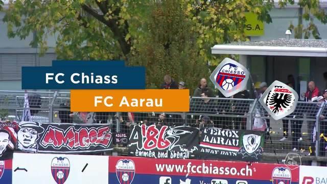 FC Chiasso - FC Aarau 2:3 – Highlights im Video