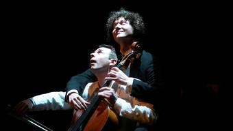 Das Duo Calva bot in der Zwinglikirche Unterhaltung auf höchstem Niveau. zvg