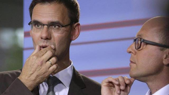 ÖVP-Landeshauptmann Markus Wallner (links) ohne absolute Mehrheit