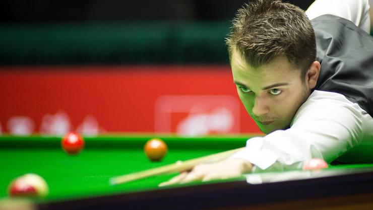 Alexander Ursenbacher brilliert am Snookertisch.