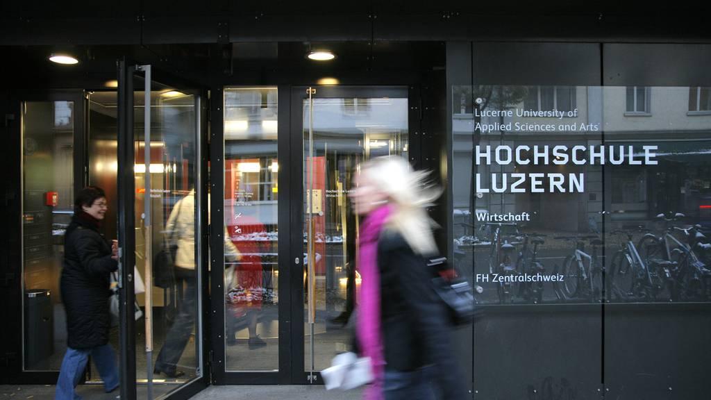 Hochschule Luzern vor finanziellen Problemen