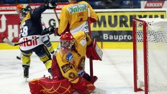Langnau-Goalie Conz kassierte sieben Treffer