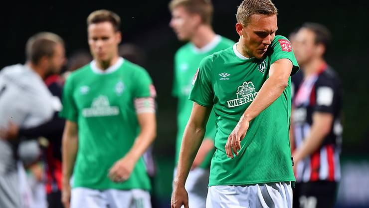 Werder Bremens Heim-Misere (im Vordergrund Kevin Vogt) geht weiter