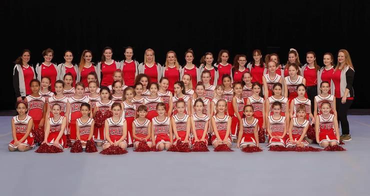 Gruppenfoto nach unserer Turnshow