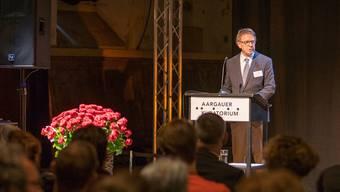 Kuratoriumspräsident Rolf Keller legt regelmässig öffentlich dar, was das Gremium fördert. Mario Heller