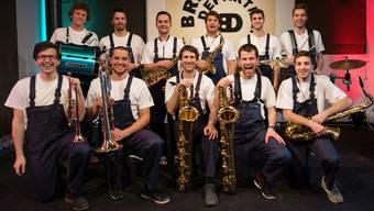 Der Jüngste ist 20, der Älteste 30, drei sind professionelle Musiker: Die Basler Band Brass Departement dürfte am Freitagabend zu den Publikumslieblingen gehören.