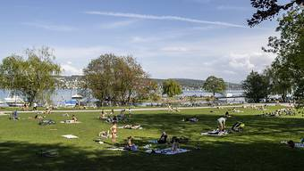Der Erlebnisgarten der ZKB wurde zwar aufs kommende Jahr verschoben. Die Landiwiese kann aber auch in diesem Sommer genutzt werden. (Archivbild)