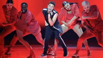 Glanzresultat für die Schweiz: Luca Hänni hat es am Eurovision Song Contest auf Platz 4 geschafft.