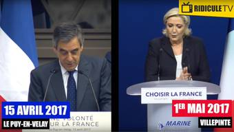 Marine Le Pen kupfert Rede bei François Fillon ab