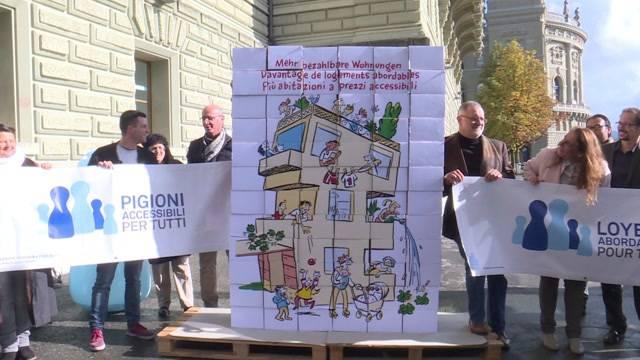 Kampf den teuren Wohnungen