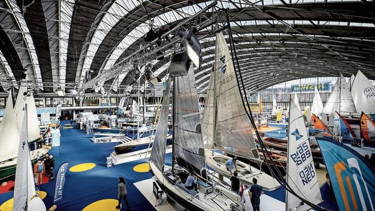 Grossveranstaltungen wie die Boat Show in Amsterdam leiden derzeit besonders unter der Corona-Krise.