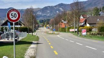 Die Thalstrasse von Laupersdorf muss saniert werden. (Archivbild)