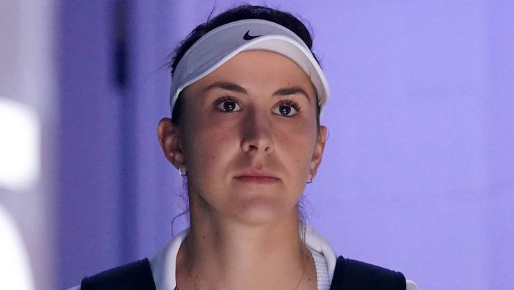 Belinda Bencic zieht bei den Australian Open einen rabenschwarzen Tag ein.