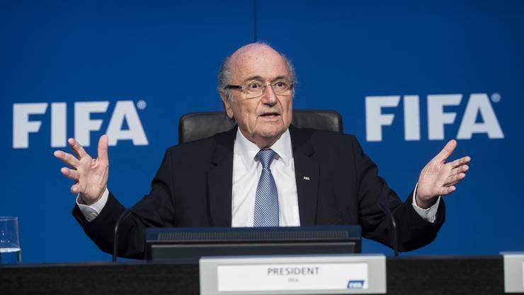 Für Sepp Blatter wird die Luft immer dünner. (Archivbild)