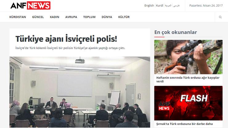 Türkische Nachrichtenportale berichten ebenfalls über den Fall.