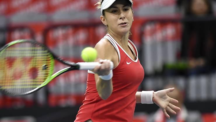 Bringt das Schweizer Fed-Cup-Team gegen Italien in Führung: Belinda Bencic