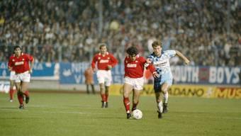 Wettingen gegen Napoli im Uefa-Cup