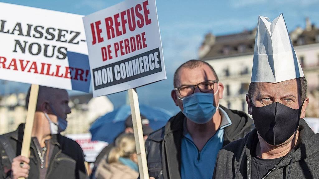 Rebellion für Geld und Macht:Beizer fordern 500 Millionen Franken pro Monat vom Staat – und streiken