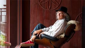 Liedermacher Linard Bardill kandidiert für den Regierungsrat.