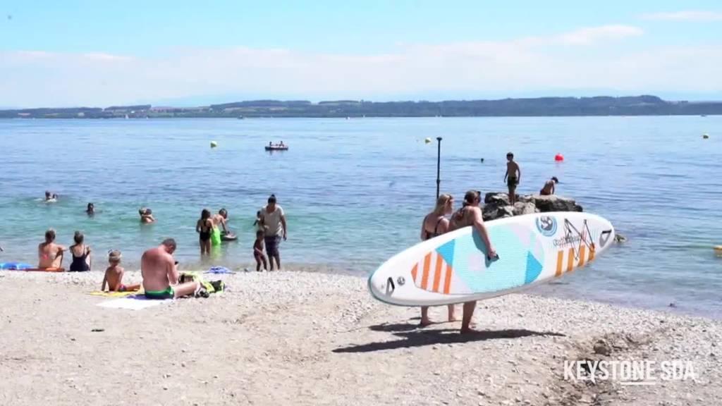 Kampagne mit Daniel Koch warnt vor den Gefahren beim Schwimmen