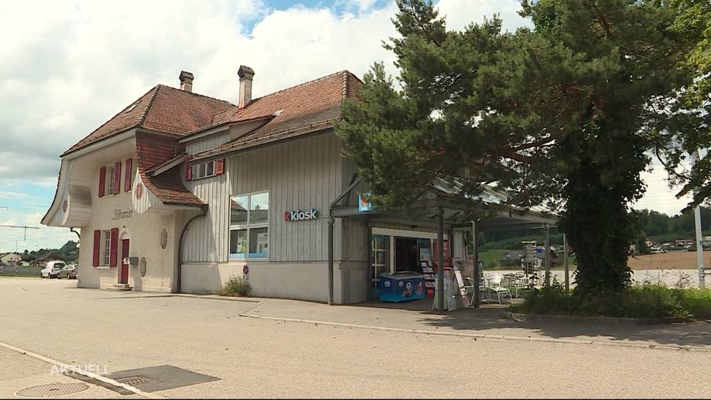 Bewaffneter Überfall auf Kiosk in Biberist