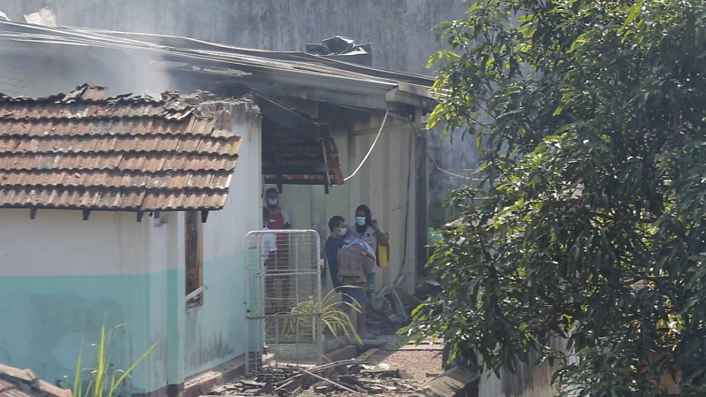 Tödliche Gefängnisrevolte wegen Corona in Sri Lanka