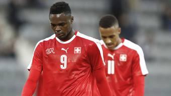 Doppelbürger die vom Schweizer Fussballverband ausgebildet wurden, sollen Geld zurückzahlen, wenn sie sich für eine andere Nationalmannschaft entscheiden. Im Bild: Dimitri Oberlin und Marvin Spielmann.