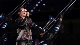 Der Sänger und Gitarrist der britischen Band Muse, Matt Bellamy, hat im August 2019 geheiratet. (Archiv)