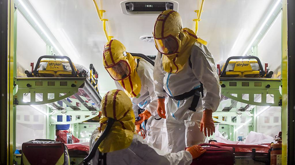 Krankenhäuser in Tschechien melden Rekordzahl an Covid-19-Patienten