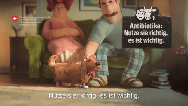 Bund macht mit Kinderfilmchen auf Antiobiotikaresistenz aufmerksam