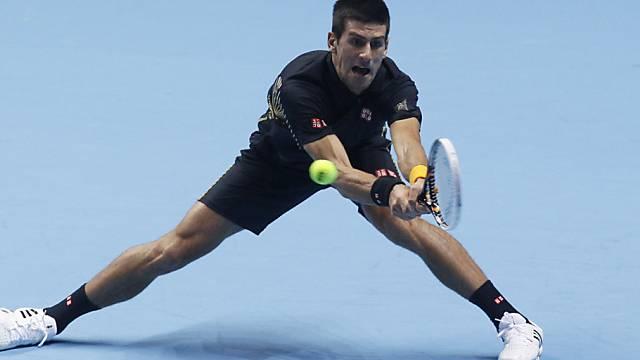 Novak Djokovic ist in London weiter ungeschlagen
