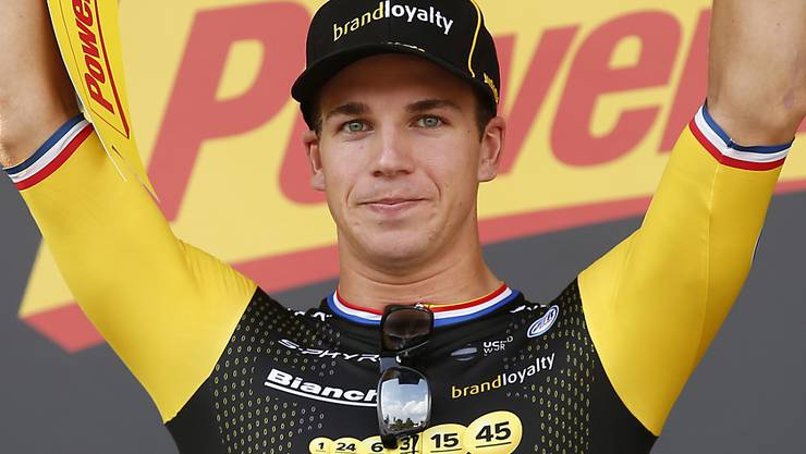 Dylan Groenewegen, tags zuvor Sieger in Chartres, sprintet auch in Amiens zum Sieg