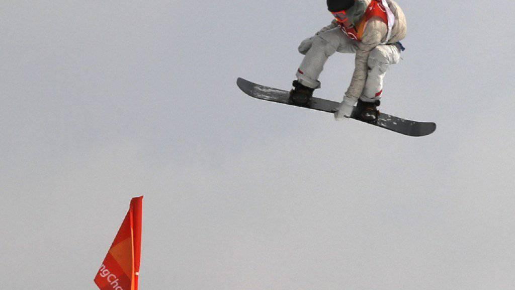 Redmond Gerard fliegt in Pyeongchang überraschend zu Gold.