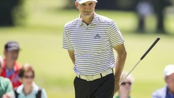 André Bossert kann mit seinen Leistungen bei den Ü50-Golfprofis zufrieden sein