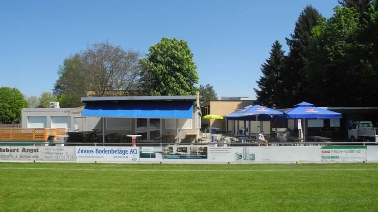 Ein Treffpunkt für Fussballfans: Club-Restaurant des FC Schlieren.