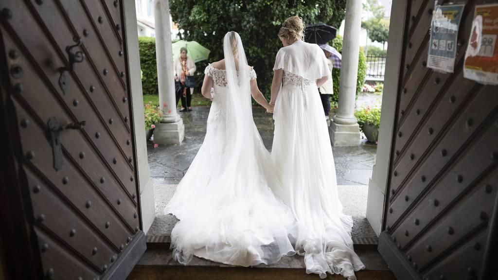 Debatte um «Ehe für alle»